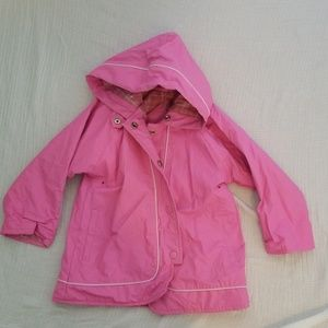Carter's lined raincoat